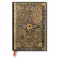 Paperblanks® Lindau Gospels Notes w linie midi