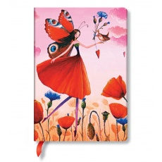 Paperblanks® Mila Marquis Poppy Field Notes w linie midi