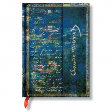 Paperblanks® Monet (Water Lilies) Letter to Morisot Notes w linie midi