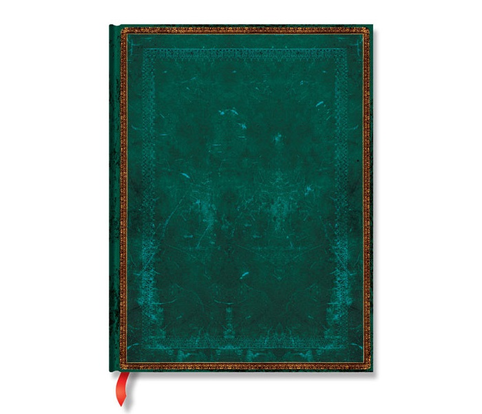 Paperblanks® Old Leather Classics Viridian Notes w linie ultra