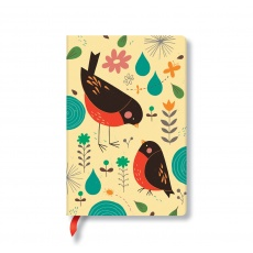 Paperblanks® Tracy Walker Mother Robin Notes w linie mini