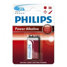 Philips bateria alkaliczna Power 9V 6LR61, baterie