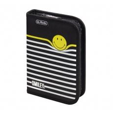 Piórnik 1 komora 19 el. Smiley B&Y Stripes Herlitz 50015382