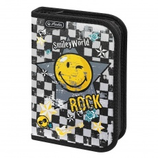 Piórnik 1 komora 19 el. SmileyWorld Rock Herlitz 11275088