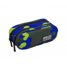 Piórnik saszetka 2 komory CoolPack Clever A351 Camouflage Lime Patio 88923CP