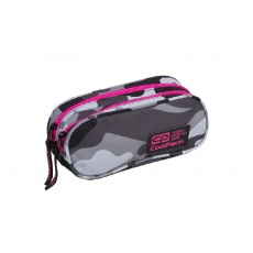Piórnik saszetka 2 komory CoolPack Clever Pink Neon A360 Patio 89036CP