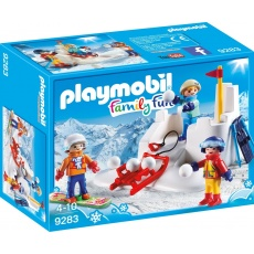 Playmobil® Family Fun 9283 Bitwa na śnieżki