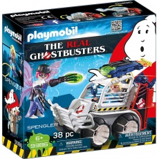 Playmobil® The Real Ghostbusters™ 9386 Spengler z pojazdem klatką