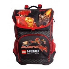 PLECAK TORNISTER LC-01 LEGO HERO FACTORY RED