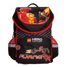 PLECAK TORNISTER LC-02 LEGO HERO FACTORY RED