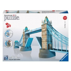 Puzzle 3D Tower Bridge 216 elementów, Ravensburger 125593