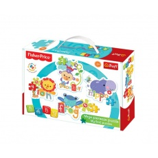 Puzzle Baby Classic Rainbow Forest II Fisher Price, Trefl 36059