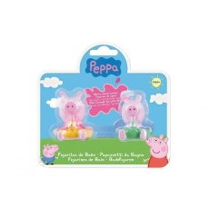 Zestaw 2 figurek do kąpieli Peppa i George, Świnka Peppa TM Toys PEP 360082