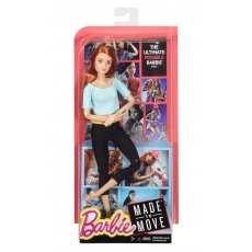 Barbie DHL81 DPP74 Lalka Made To Move Mattel