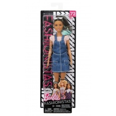 Barbie® Fashionistas™ Lalka 72 Overall Awesome Original Mattel FBR37 FJF37