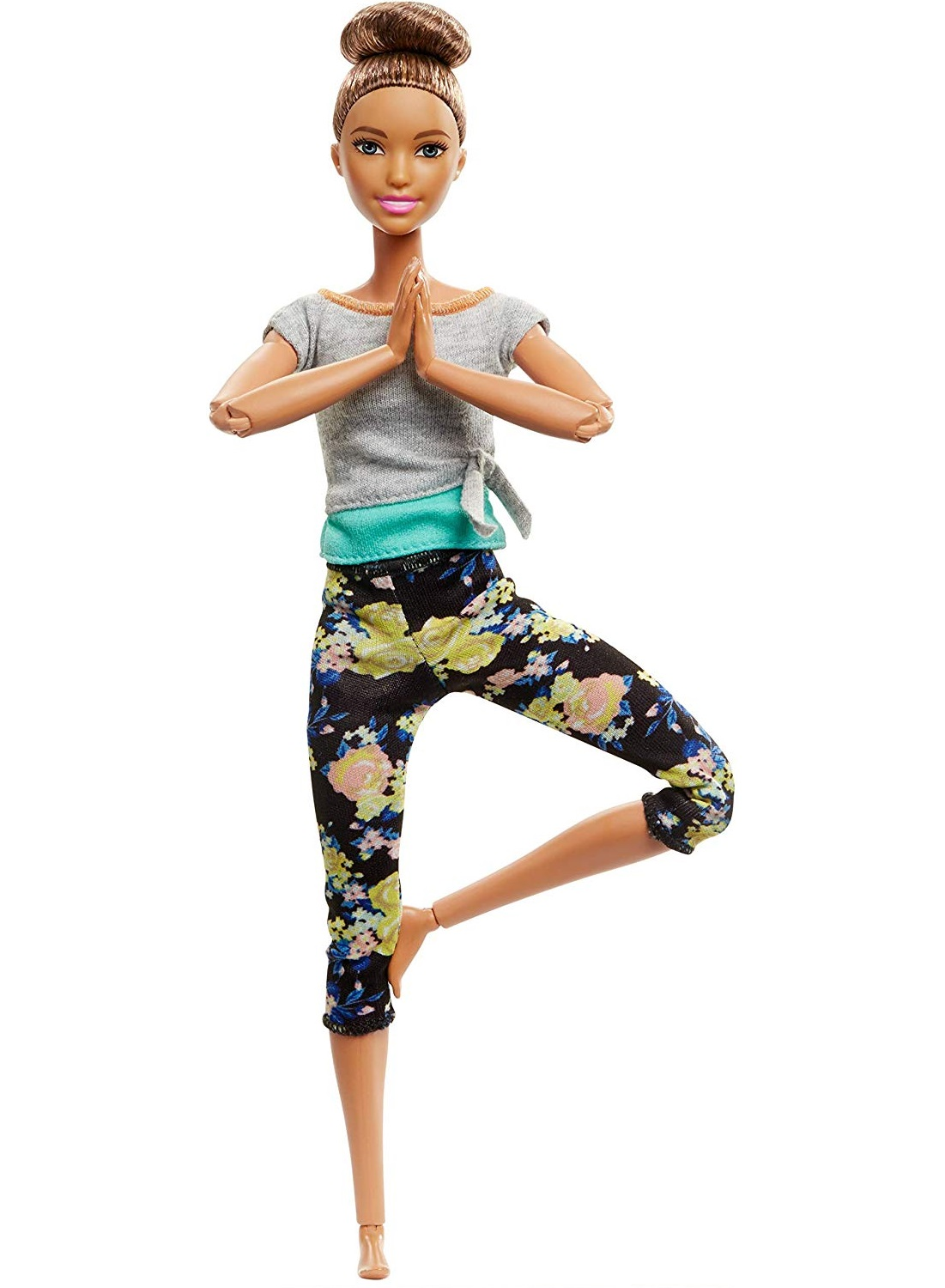 Barbie® Lalka Made To Move™ Fitness Mattel FTG80 FTG82