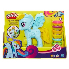 Ciastolina My Little Pony Rainbow Dash Salon Fryzjerski Play-Doh Hasbro B0011