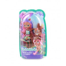 Enchantimals™ Lalka Sancha Squirrel z wiewiórką Stumper Mattel FNH22 FMT61