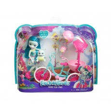 Enchantimals™ Lalka Taylee Turtle z rowerkiem Mattel FJH11 FCC65