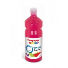 Farba tempera plakatowa magenta 1000 ml Premium nr 22 Happy Color HA 3310 1000-22