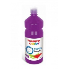 Farba tempera plakatowa śliwkowa 1000 ml Premium nr 63 Happy Color HA 3310 1000-63