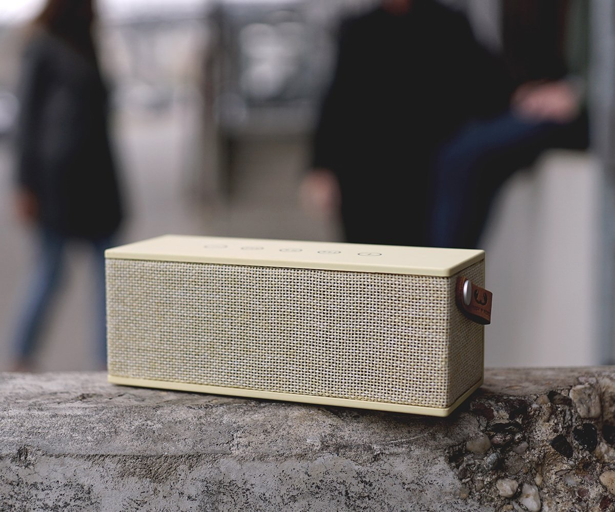 Fresh \'n Rebel Głośnik Bluetooth Rockbox Brick Fabriq Buttercup Hama 157550