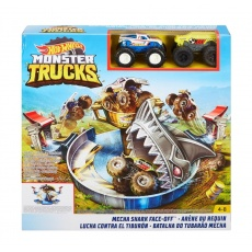 Hot Wheels FYK14 Monster Truck Zestaw Arena rekina Mattel