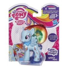 Kucyk podstawowy Rainbow Dash Cutie mark magic My Little Pony Hasbro B0384 B0388