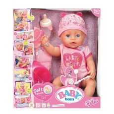 Lalka interaktywna Baby born® Soft Touch Girl 43 cm Zapf Creation 824368