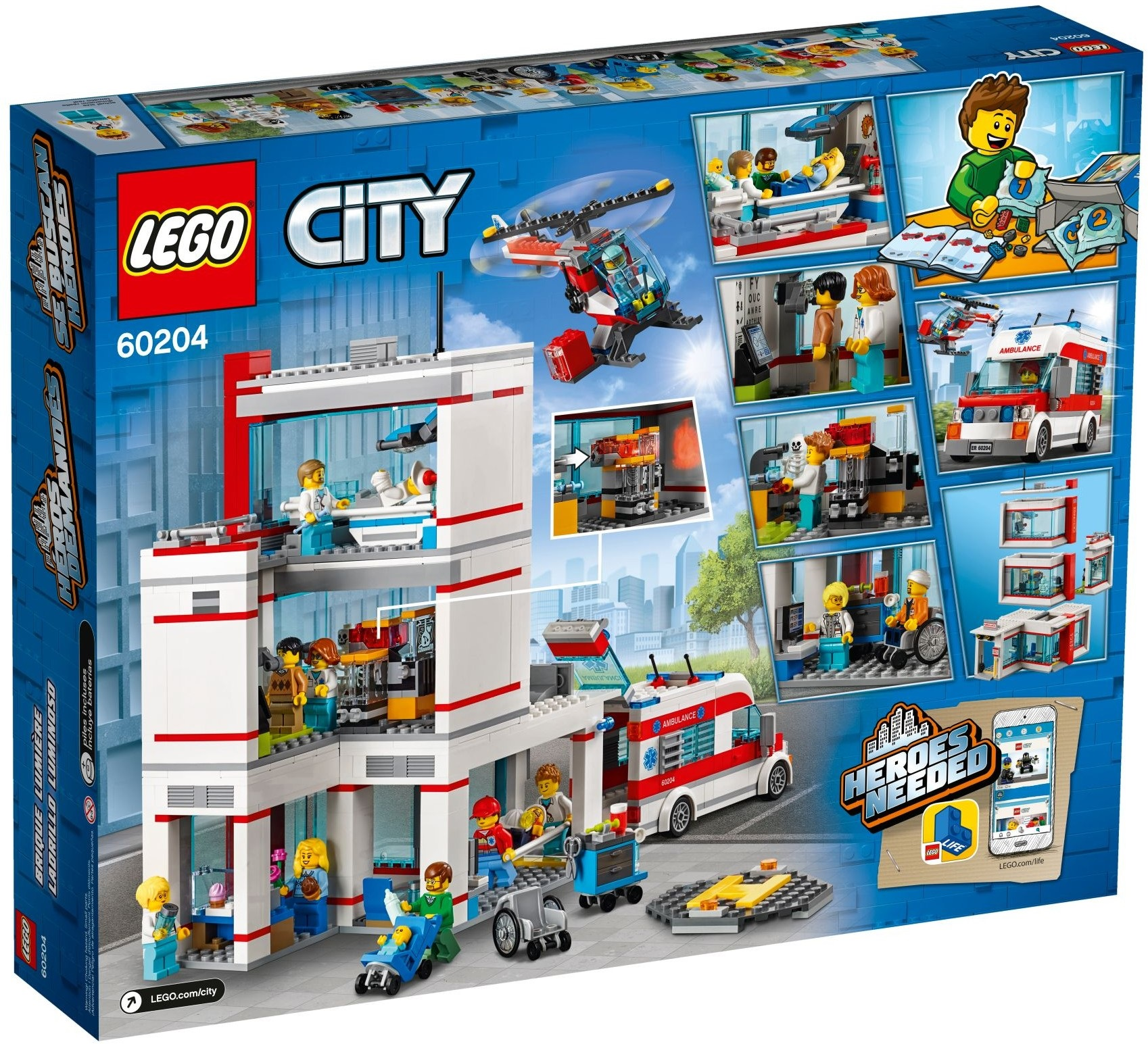 LEGO® City 60204 Szpital