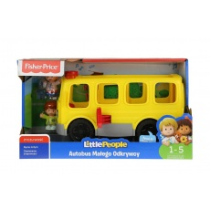 Little People® Autobus Małego Odkrywcy Mattel FKX03 FPV37 Fisher Price®