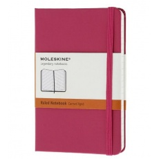 Moleskine Notebook notes w linie pocket hard magenta