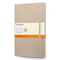 Moleskine Notebook notes w linie large soft beżowy