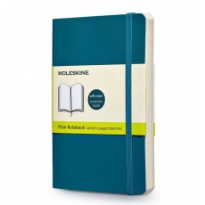 Moleskine Notes gładki notebook large soft morski