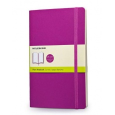 Moleskine Notes gładki notebook large soft orchid purple