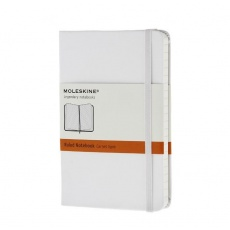 Moleskine Notes w linie notebook pocket hard white