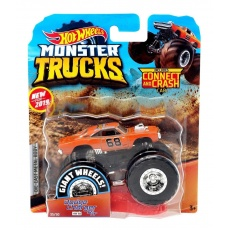Monster Trucks Metalowy pojazd Dodge Charger R/T Hot Wheels FYJ44 GJF48 Mattel