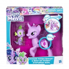 My Little Pony Movie™ Twilight Sparkle i Spike Śpiewający duet Hasbro C0718