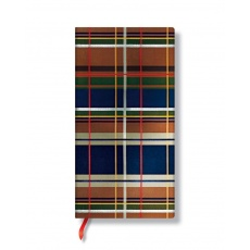 Paperblanks® Mad For Plaid Notes w linie Chelsea Slim