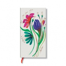 Paperblanks® Blossoms Notes w linie Wind Flowers Slim