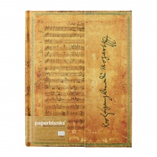 Paperblanks® Embellished Manuscripts Mozart Notes w linie ultra