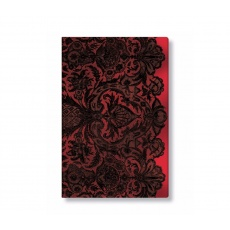 Paperblanks® Lace Allure Rouge Boudoir Notes w linie midi