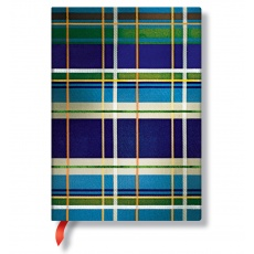Paperblanks® Mad for Plaid Davenport Notes w linie midi