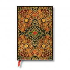 Paperblanks Notes w linie mini Fire Flowers