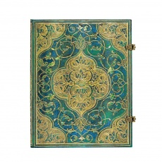 Paperblanks Notes w linie Ultra Turquoise Chronicles