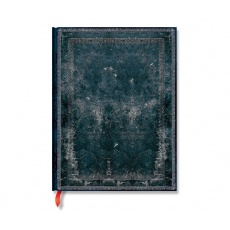 Paperblanks® Old Leather Classics Midnight Steel Notes w linie ultra