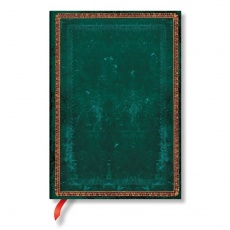 Paperblanks® Old Leather Classics Viridian Notes w linie midi