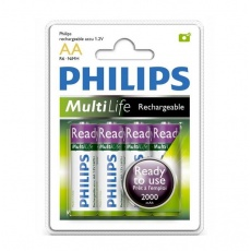 Philips bateria akumulator 1,2V Rechargeable MultiLife MiMH R6 AA 2000 mAh