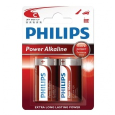 Philips bateria alkaliczna Power 1,5V C LR14 Baby