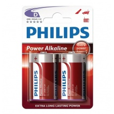 Philips bateria alkaliczna Power 1,5V D LR20 Mono